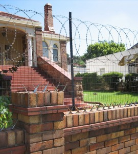 Dont Fence Me In Jerry Rushing - brick wall fence designs south africa